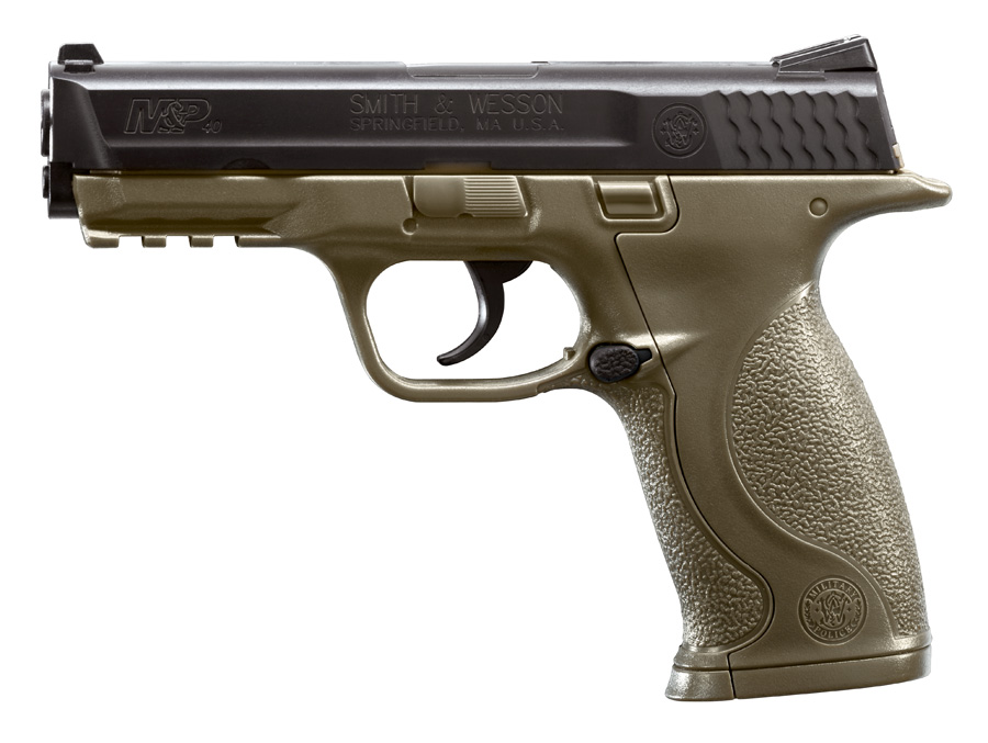 S&W M&P Dark Brown CO2-Pistole cal. 4,5 mm BB