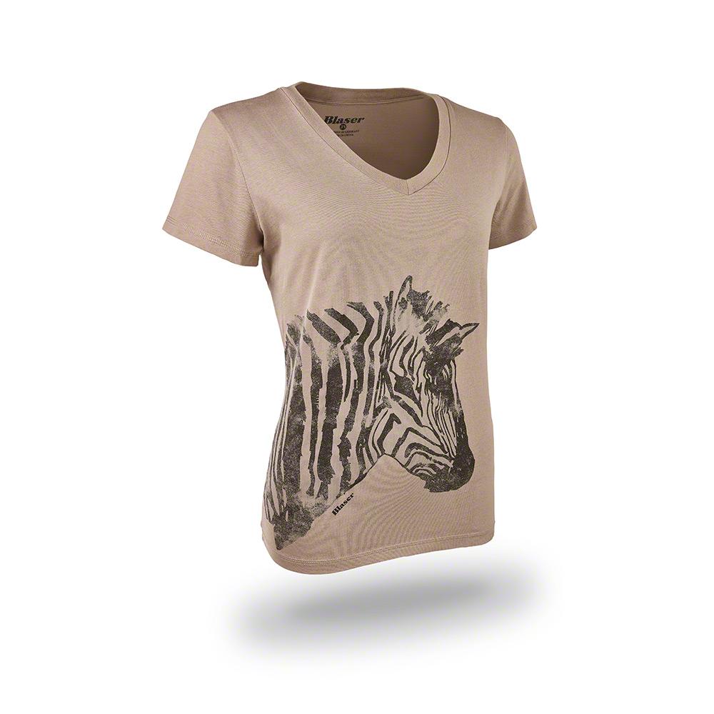 Blaser Zebra női póló homok színű 116009-006 617 f813868961