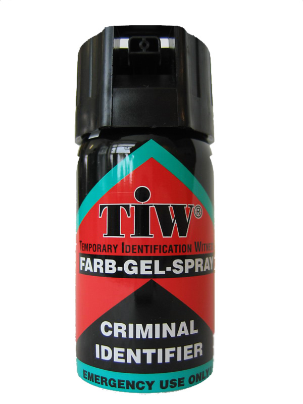 TIW FARB-GEL SPRAY piros 40ml