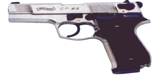 WALTHER CP 88 4 BR. PL. 4,5 23360400