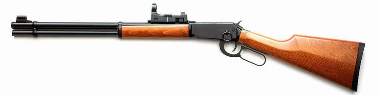 Walther Lever Action Long im Set m. Red-Dot-Visier (P18)