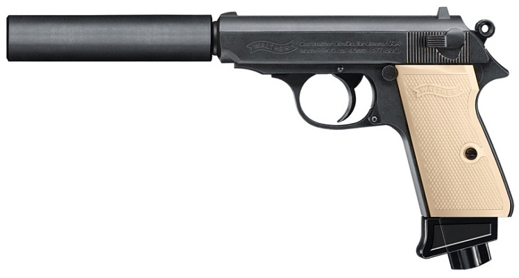 Walther PPK/S CO2-Pistole cal. 4,5 mm BB