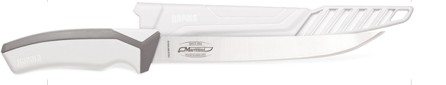 "Marttiini filéző 6"" / 8"" straight/medium flex/plastic sheat"