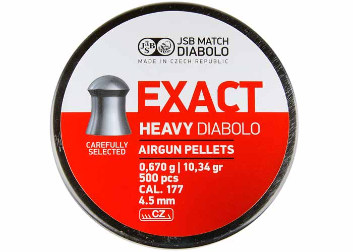 JSB Diabolo Exact Heavy 4,5mm
